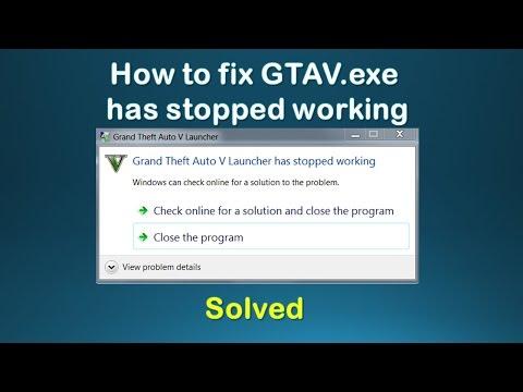 FIX GTA 5 STOP WORKING - GTA V Launcher has stopped working fix