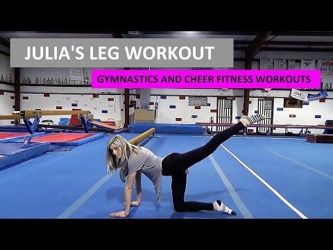 Julia S Leg Workout Gymnastics Fitness Conditioning At