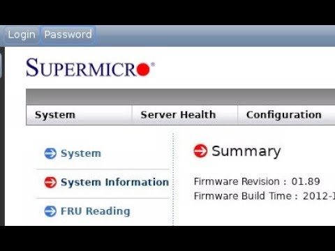 Using noVNC to access SuperMicro 2012 IPMI WEB-interface