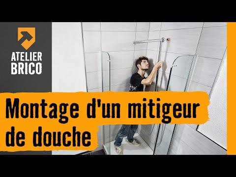 montage d 39 un mitigeur de douche atelier brico hornbach