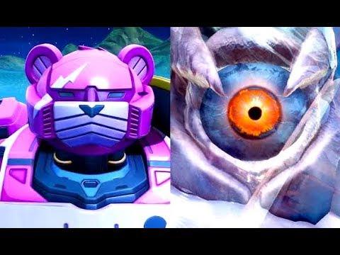 MONSTER vs. ROBOT Full Fight (Fornite Season 9 Event)