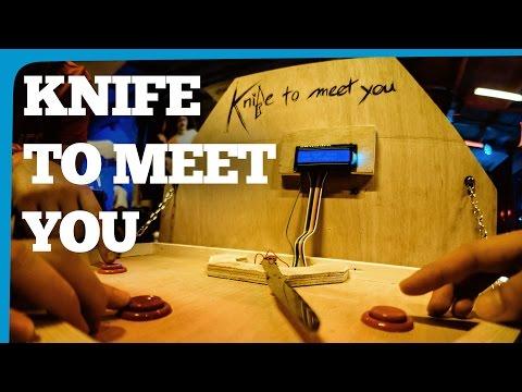 Arduino Game - Knife to Meet You | Robin Baumgarten at EGX Rezzed Leftfield Collection