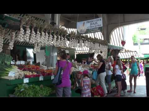 Le marché Jean Talon (Montréal - Canada)