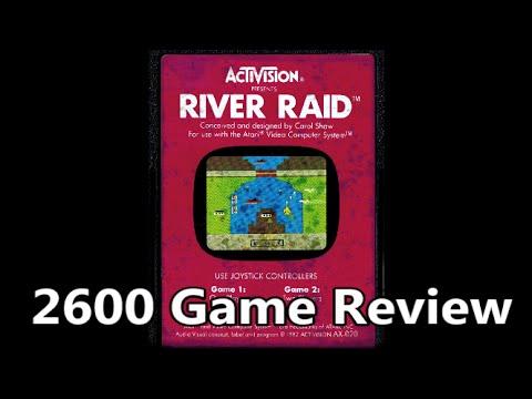 River Raid Atari 2600 Review – The No Swear Gamer Ep 192
