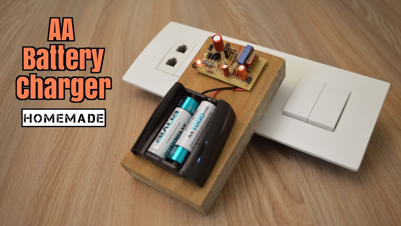 How To Make A Battery Charger From Scrap Homemade Youtube Simple Nicd Electronic Circuits Howtomake Diy Craft