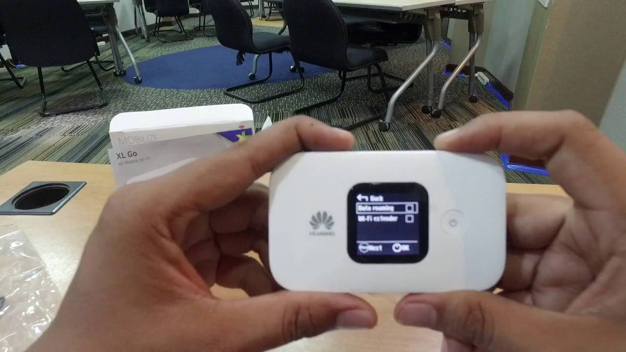 Unboxing Mobile Wifi XL Go! Free 90 Gb - Huawei E5577c with XL 4G LTE