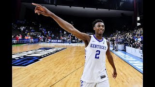 The final 5 minutes of Kentucky's NCAA tournament 2nd round win over Wofford