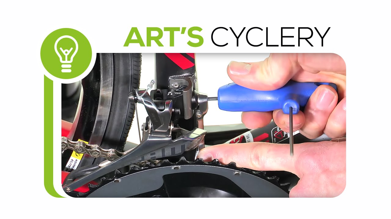 How To Adjust Sram Yaw Front Derailleurs Youtube