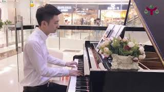 Alan Walker - Faded Piano Cover | Piano Street Performance