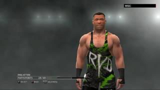 WWE 2K17:Rob Van Dam CAW formula(Xbox 360/PS3)