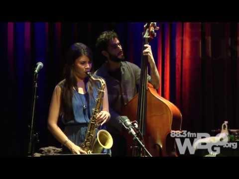 Melissa Aldana Crash Trio: The Checkout Live at Berklee