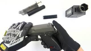 H&K USP Tactical AEP + silencieux 25616 DMdiffusion