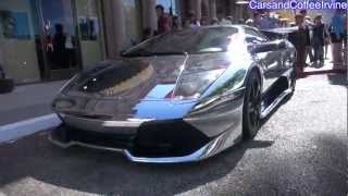 CHROME Lambo Murci and Spectacular Combos! Modded SLR Roadster, Carrera GT, 599, Etc...