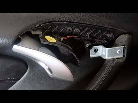 Porsche Boxster Door Handle Wont Close Fix
