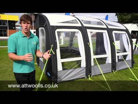 Kampa Rally Air Pro Awning Review 2016 Youtube