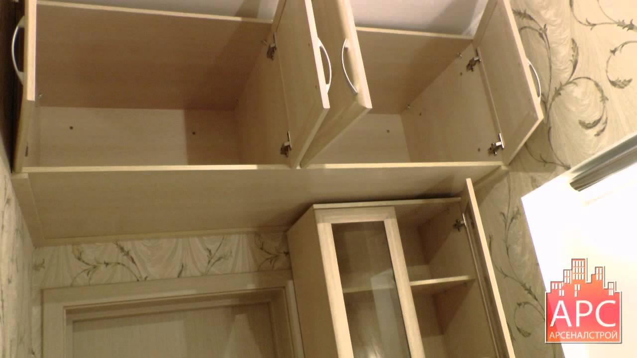 Шкаф и подвесные антресоли на заказ - youtube.
