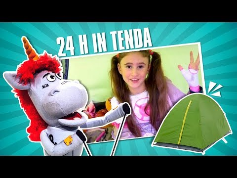 PASSO 24 ORE IN UNA TENDA | Charlotte M.