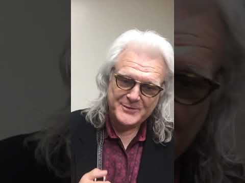 Ricky Skaggs Reacting To His Hall Of Fame Induction + Black Eyed Suzie 'as Live As It Gets'