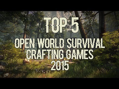 Top 5 world open survival crafting games 2015 by for Survival crafting games pc