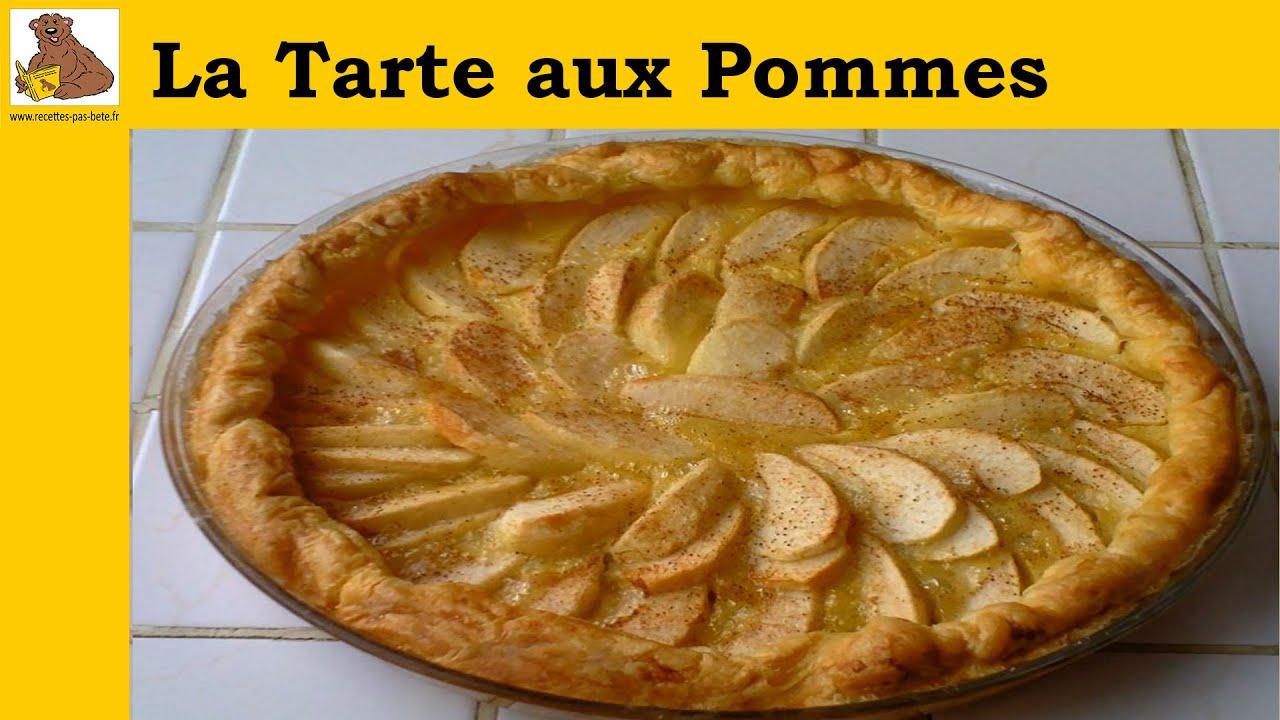La tarte aux pommes recette rapide et facile hd youtube - Dessin tarte aux pommes ...