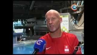 Иностранные спортсмены осваивают Минский центр фристайла