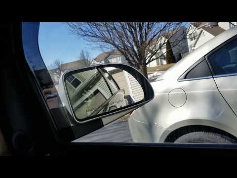 How To Replace Mirror On A Saturn Vue
