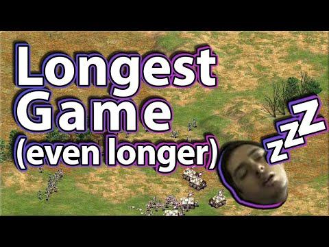 The Longest Game Of AoE2 (It's Even Longer)