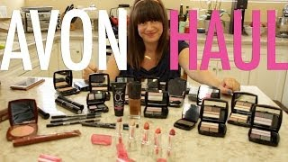 Avon Haul (My first Haul) | Jamie Greenberg Makeup Thumbnail