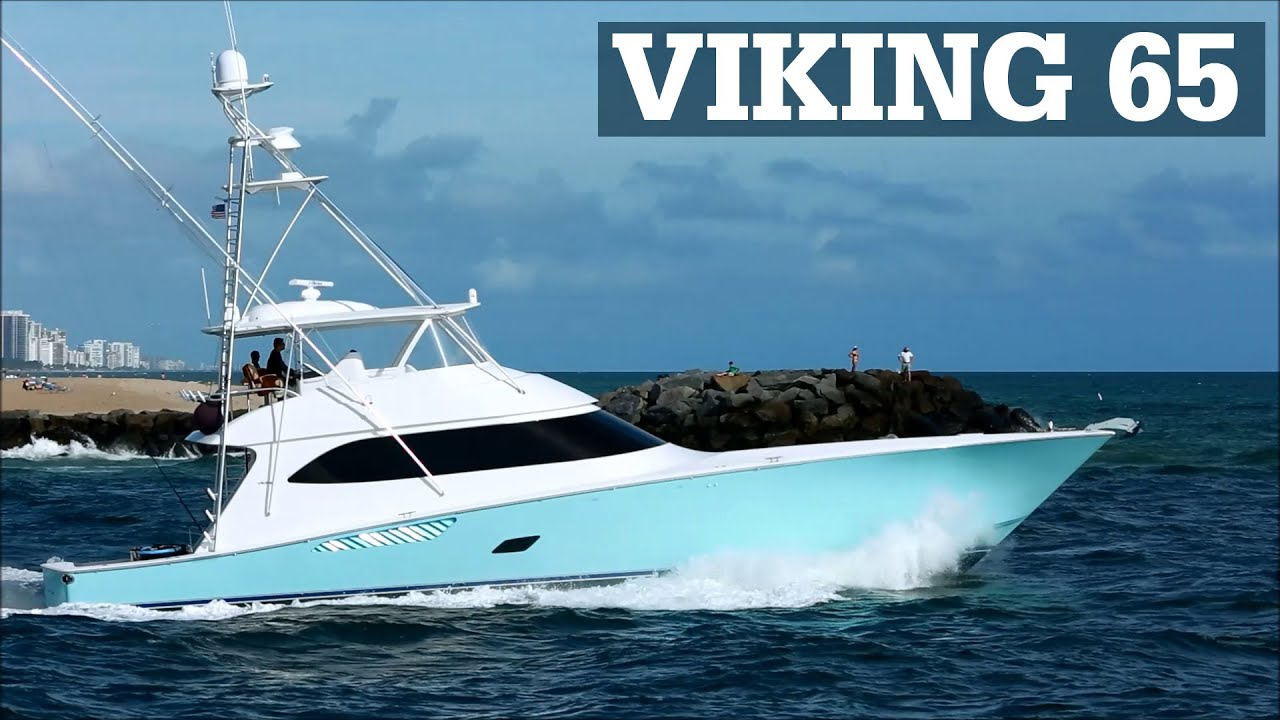 Viking 65 sportfish in baby blue reel cents youtube for Viking sport fish