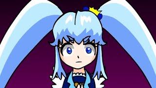 【プリキュア手書き劇場その4】「ハプニング集「プリンセスの名乗りフライング」を手書きにしてみた」【precure fan made anime】