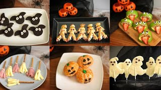 6 Very easy Halloween snack ideas