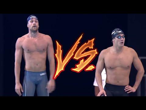 Nathan Adrian VS Luca Dotto 50m Freestyle   2017 Energy For Swim
