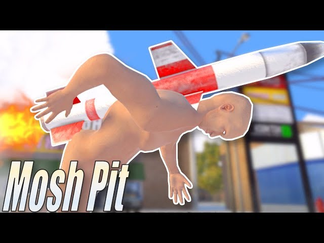 GAME LIKE GMOD BUT IN VR! - Mosh Pit Simulator Gameplay - HTC Vive VR