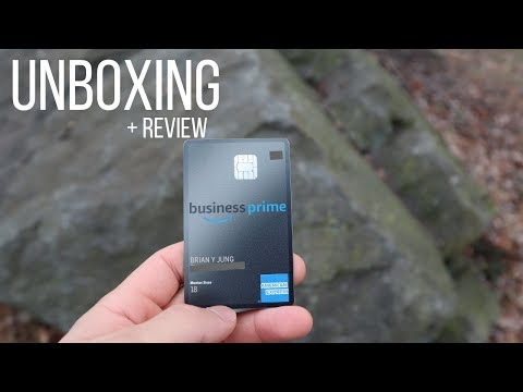 💳The Most Affordable Metal Credit Card (AMEX Amazon Business Prime)