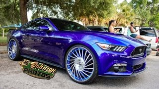 Candy Painted 5.0 Mustang on Forgiato Wheels in HD