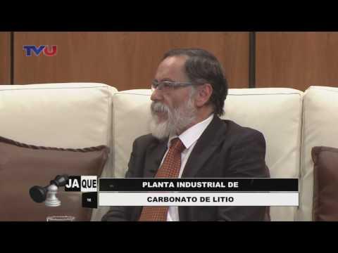 Entrevista sobre el litio en Programa Jaque Mate  de TV Universitaria en La Paz - Bolivia