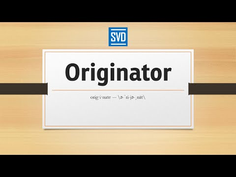 Originator » Definition, Meaning, Pronunciation, Origin, Synonyms, Thesaurus, and Example Sentences