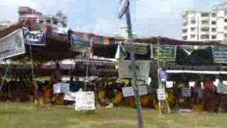Tibetan protest in Mangalore