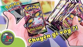 When Anhktay first opened the Pokemon TCG Vivid Voltage to hunt Pikachu Rainbow Rare ToyStation 558