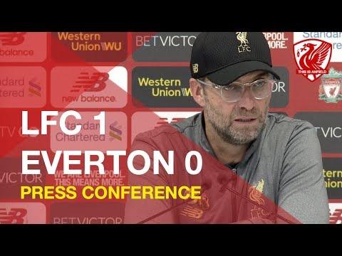 Liverpool 1-0 Everton   Jurgen Klopp Press Conference