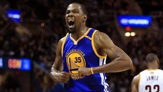Kevin Durant BEST PLAY from EVERY GAME 2017 Finals MVP 2016 2017 Season