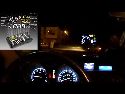 X3 Head UP Display ¿OSD para auto?  Algunas ideas |NQUEH