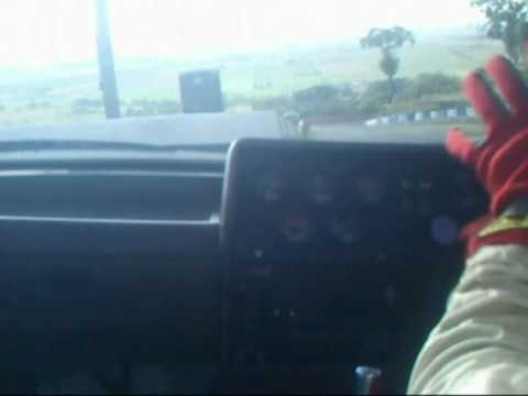 In-Car Camera - Bathurst Crash - Group A VK Commodore