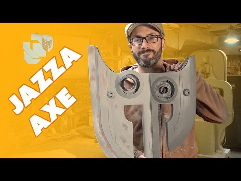 Building the Jazza Axe Prop Part 1 - Prop: Shop
