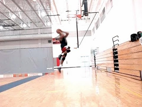 Explosive Small Forward Moves - Corner Catch, Open-Up Low-Rip Swing Driving Dunk | Dre Baldwin