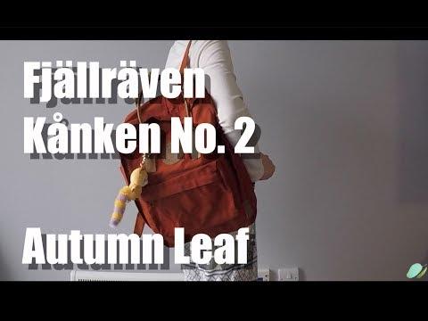 Fjällräven Kånken No 2 Autumn Leaf by MangoYellow
