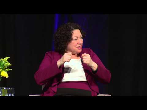 My Beloved World: A Talk with Justice Sonia Sotomayor