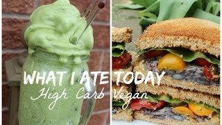 What I Ate Today   HCLF VEGAN + Easy Recipes