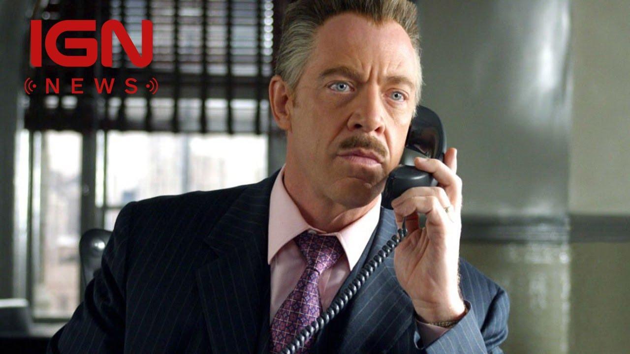 Spider-Man: J.K. Simmons Gives J. Jonah Jameson ...