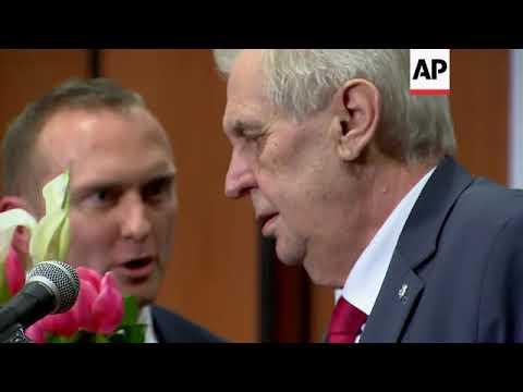 President Zeman re-elected in Czech Republic runoff